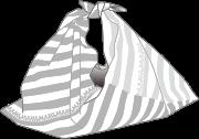 Furoshikiラッピングのイメージ